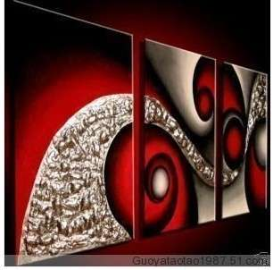 Large Modern Abstract Art Oil Painting Wall Deco canvas