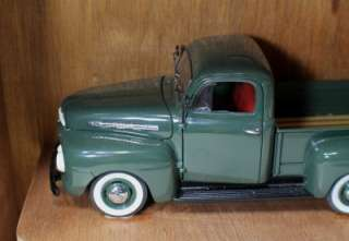 Mint Diecast Model 1951 Ford F 1 Pick Up Truck Title Custom Shadow Box
