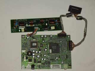 ViewSonic LCD Monitor VE 150m Logic & Inverter Board 0101 YN 00666