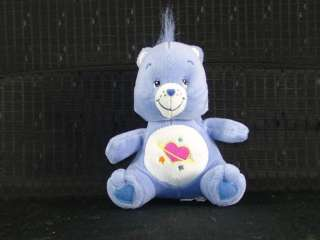Plush Star Planet Heart Daydream Care Bear Lovey Toy
