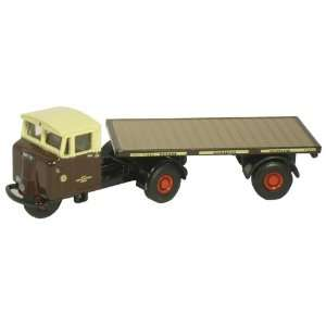 Mechanical Horse flatbed trailer   GWR