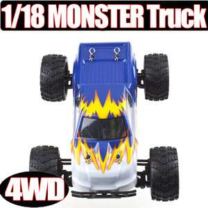 E18MT 1/18 118 Monster Truck RTR 4WD BUGGY CAR truggy 2.4G RC Bigfoot