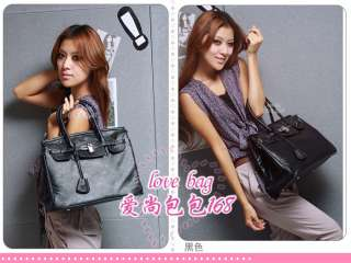 Korean style Lady Hobo PU leather handbag purse 9020