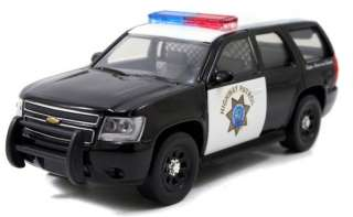 Jada 1/64 CHP California Highway Patrol Police Chevy Tahoe