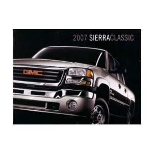 2007 GMC SIERRA Sales Brochure Literature Book Piece