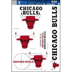 Chicago Bulls Decals (Window Clings)