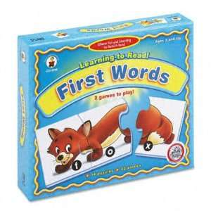 Learning to Read First Words Puzzle Game CDPCD3116 Toys & Games