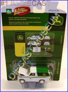 1980 80 FORD BRONCO SUV JOHN DEERE JD DIECAST JOHNNY LIGHTNING JL