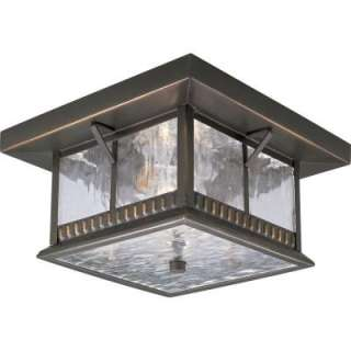 Progress Lighting Aberdeen Collection Antique Bronze 2 Light Outdoor