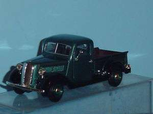 1937 FORD PICKUP TRUCK 124 GREEN & BLACK