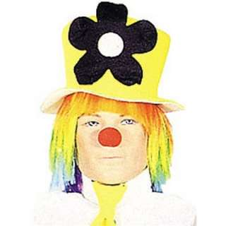 Adult Neon Daisy Clown Hat   The Perfect Topper to a Crazy Clown