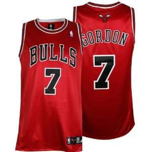 Ben Gordon Red adidas NBA Authentic Chicago Bulls Jersey