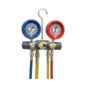 Manifold Gauge Set,liquid Filled Gauges   YELLOW JACKET Automotive