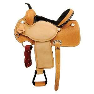 Black Champion, Square Barrel Racing Saddle