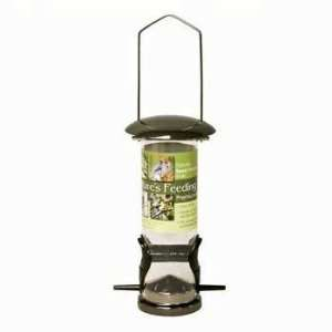 Blue Ribbon Deluxe Wild Bird Seed Feeder Gun Metal Small