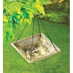 FAITH HANGING GARDEN BIRD SEED FEEDER WILD BIRD SEED