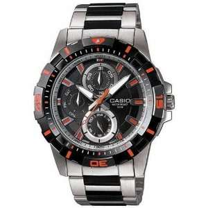 Casio Mens MTD1071D 1A2V Silver Stainless Steel Quartz