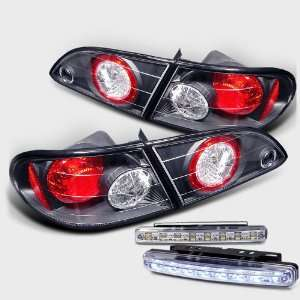 Eautolight 98 02 Toyota Corolla Tail Lights+led Bumper Fog