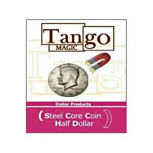 Steel Core Half Dollar   Tango   Close Up Magic Tr Toys