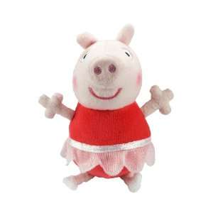 Peppa Pig 7 Talking Peppa Ballerina Plush Soft Toy Toys & Games