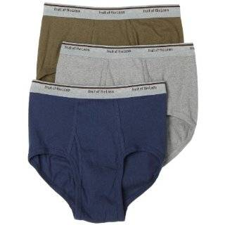 Fruit of the Loom Mens Rugged Brief 3 Pack Explore