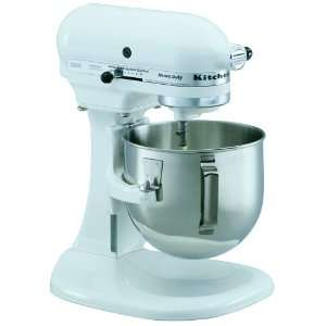 KitchenAid K5SSWH Heavy Duty Series 5 Quart Stand Mixer