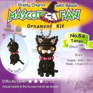 Mascot Bead Charm Kit   Halloween Black Cat Arts, Crafts & Sewing