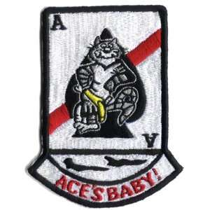 VF 41 Tomcat Aces Baby Patch Military Arts, Crafts & Sewing