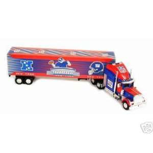 Diecast Tractor Trailer Truck NFL by Fleer Collectibles Sports