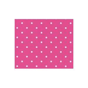 Polka Dot Hot Pink Wallpaper in Metropolis Everything