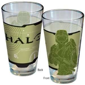 Halo Master Chief Pint Glass
