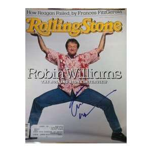 Signed Williams, Robin Rolling Stone Magazine (Dated 2/25