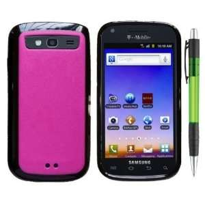 Black Trim With Hot Pink Design Protector Cover Case for