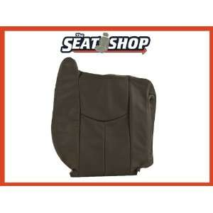 04 05 06 Chevy Silverado GMC Sierra Graphite Leather Seat Cover RH top