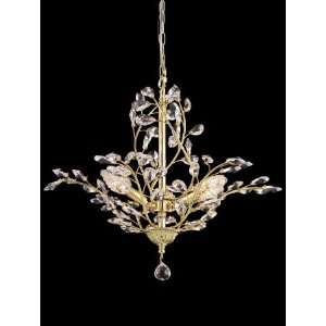 Dale Tiffany Sutton 3 Light Single Tier Chandelier GH80264