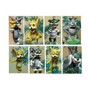 Hard to Find Tom and Jerry 8 Piece Holiday Christmas Tree