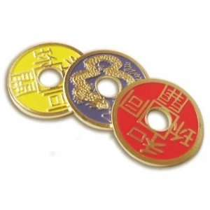 Chinese Coins   Multi colored Toys & Games