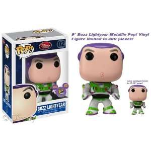 Buzz Lightyear Metallic Paint Funko Pop Vinyl Figure