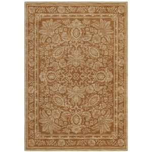Tommy Bahama vintage lei gold Runner 2.60 x 7.90 Area Rug