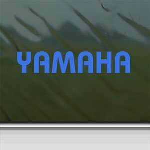 YAMAHA Blue Decal Atv R1 R6 Car Truck Bumper Window Blue