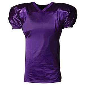 Youth Custom Football Game Jerseys PURPLE   PUR YL/YXL