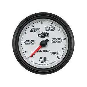 Auto Meter 7821 Phantom II Mechanical Oil Pressure Gauge