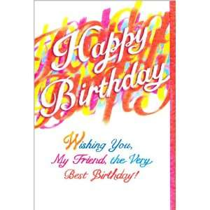 Blue Mountain Arts Birthday Greeting Card Wishing You My Friend