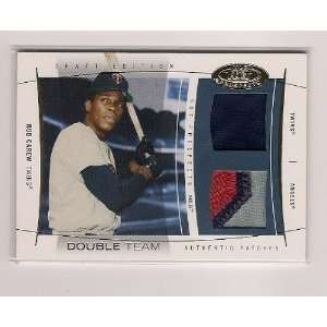 2004 Fleer Hot Prospects Rod Carew Double Team Double Game