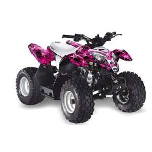 AMR Racing Polaris Outlaw 50 2002 2011 ATV Quad Graphic Kit   North