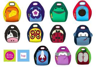 Lunch Bags Kids Backpacks Childrens Cute Reusable Snack Bag Pic Color