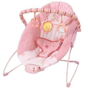Bright Starts Cradling Bouncer Pretty in Pink Baby