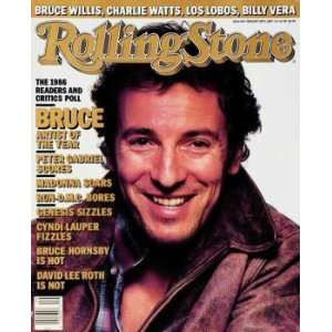 Bruce Springsteen / Rolling Stone Magazine Vol. 494, February 26, 1987