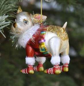 Christmas Xmas Tree Ornament Chihuahua Chiwawa Dog New