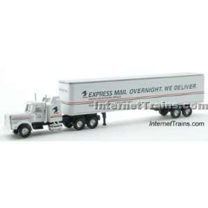 Cor N Scale Semi Truck w/45 Trailer   US Express Mail Toys & Games